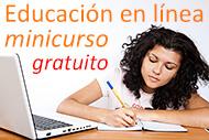 Minicurso: Educación en línea (foto CollegeDegrees360.com)
